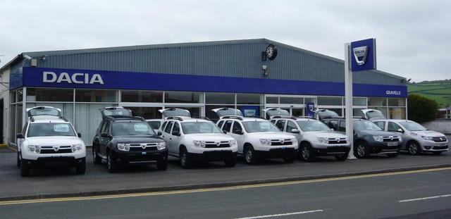 Dacia-kereskedés az Egyesült Királyságból. A britek tavaly 24 ezer Daciát vettek