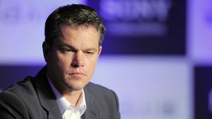 Matt Damon megnézte a Cirque du Soleil budapesti előadását