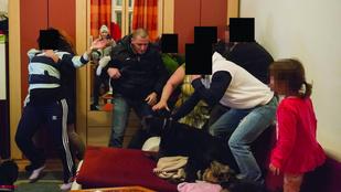 Ilyen egy kemény család vs. rendőr bunyó a Józsefvárosban