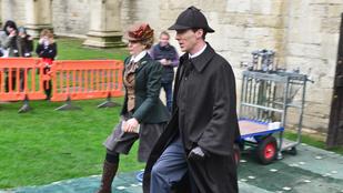 Már forgatják a Sherlock új évadát