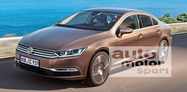 Az Auto Motor und Sport látványterve a következő CC-ről