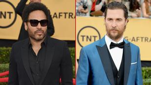 A SAG férfiskálájának két véglete: Lenny Kravitz és Matthew McConaughey