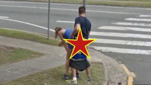 Utcai szex a Google Streetview-n