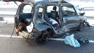 Halálos baleset az M1-esen