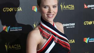 Scarlett Johansson eszetlen jól nézett ki miniben