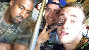 Mindenki a Super Bowlon szomorkodó Kanye Westen röhög