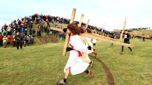 Három Jézus is indult a keménycsávók versenyén