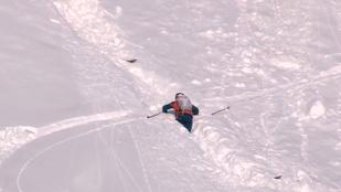 Ezúttal profi síelőt sodort el egy lavina az Alpokban