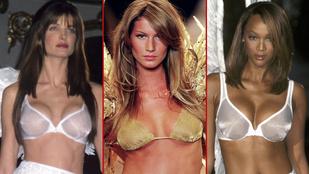 Ők voltak a 90-es évek legmenőbb fehérneműmodelljei