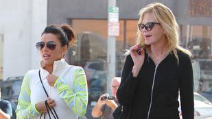 Eva Longoria és Melanie Griffith ennyire jó barátnők