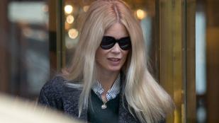Nyugalom: Még Claudia Schiffer is csúnya, ha pofát vág