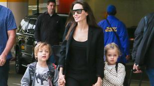 Angelina Jolie gyerekei még mindig gyönyörűek