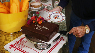 Nézze meg, hogy ünnepelték Gábor Zsazsa 98. szülinapját