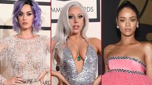 Három nő, aki meglepően jól nézett ki a Grammyn