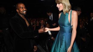 Úgy tűnik Kanye West és Taylor Swift lezárta a múltat