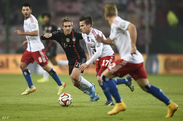 Stieber egy Bayern elleni kupameccsen