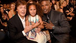 Jamie Foxx lánya celebskalpokat vadászott a Grammy-gálán