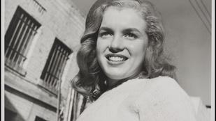 Íme, néhány eddig nem látott kép Marilyn Monroe-ról