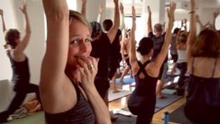 Helen Hunton kifogott a jóga