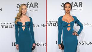 Egy esemény, két nő, ugyanaz a ruha
