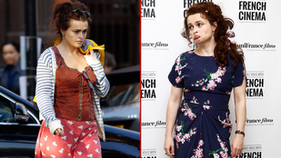 Helena Bonham Carter anyaszült meztelen megkedvelt egy halat