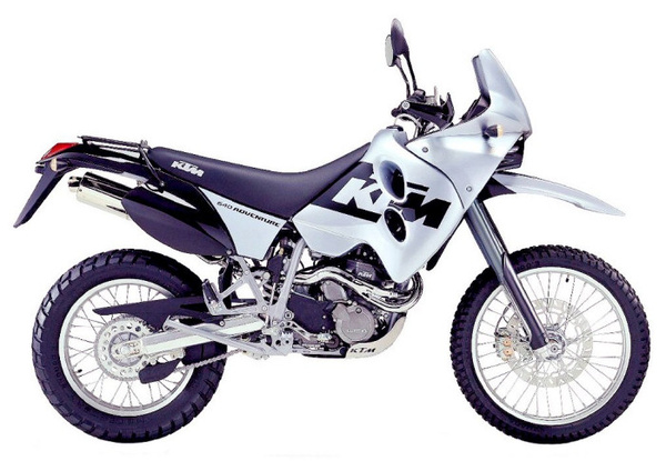 Az egyik kiszemelt: KTM 640 Adventure