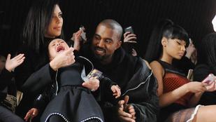 Kim Kardashian és Kanye West gyereke utálja a divatot