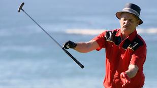 Bill Murray bepipult golfozás közben