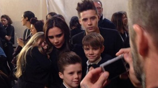 A Beckham család már megint tökéletes