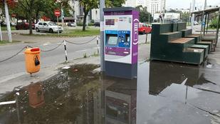 A káosz nem csak Budapestet, a BKK honlapját is elérte