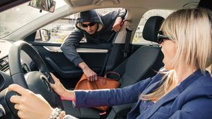 BMW-s rablóktól félnek a bevásárlók Újbudán