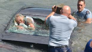 Dráma: vízbe süllyedt autóból mentettek ki egy nőt az új-zélandi rendőrök