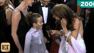 Ilyen volt Dakota Johnson 10 évesen, a vörös szőnyegen