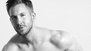 Calvin Harrisről vannak tök pucér képek, de nem láthatjuk őket