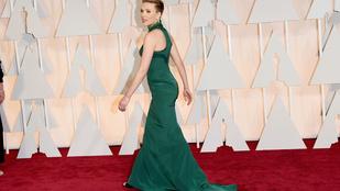 Scarlett Johansson szokatlanul rosszul nézett ki az Oscaron