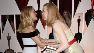 Az óriási Nicole Kidman ledobott 30 centi hajat, és 20 évet
