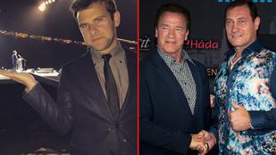 Ilyen volt a magyar celebvilág találkozása Arnold Schwarzeneggerrel