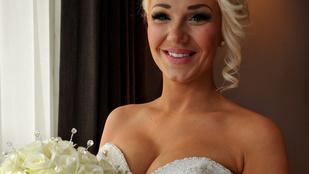 Ennek a nőnek az esküvője bekerült a Guinnessbe