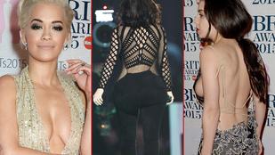 Akik a legtöbbet mutatták magukból a Brit Awardson