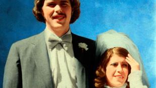 Az egyik Bush elcseszte a másik Bush esküvői fotóit