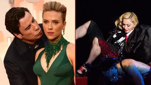Az Oscar és a zuhanó Madonna uralta a hetet