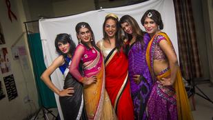 Így pózolnak saját naptárukon az indiai transzneműek