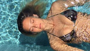 Így lebeg Leonardo DiCaprio exe a vízen