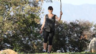 Milla Jovovich már NAGYON terhes