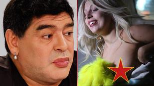A hét képei: Lady Gaga bimbója és Maradona rúzsos szája vitt mindent