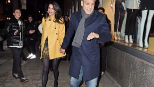 Clooney neje megint megmutatta végtelen lábait