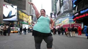 172 kiló, táncol, és nagyon boldog - ki az?