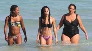 Zoe Kravitz Miamiban bikinizett, és milyen jól tette