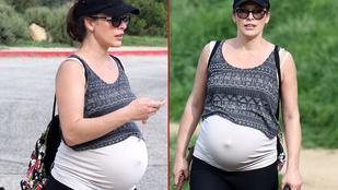 Gyanús, hogy Milla Jovovich gyereke túrázás közben fog megszületni
