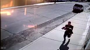Felvette egy kamera a gyerekrablást